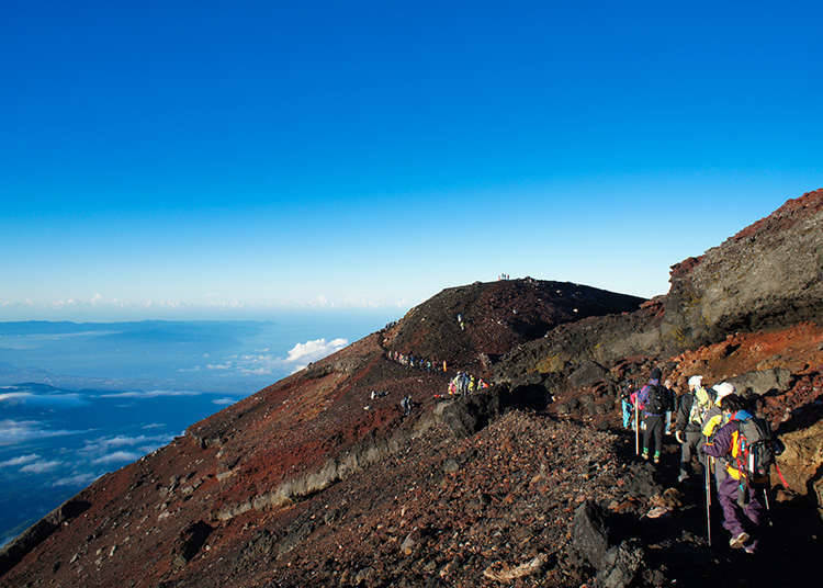 富士山與環境的問題