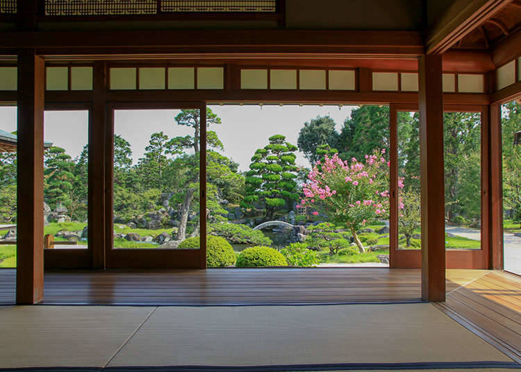 쇼인즈쿠리(書院造) 정원