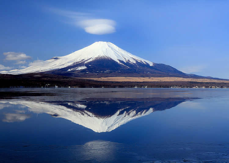 Landscapes with a view of Mount Fuji