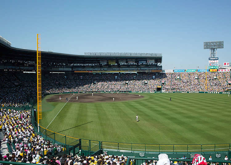 Summer's high school baseball which gets people all over Japan exited.