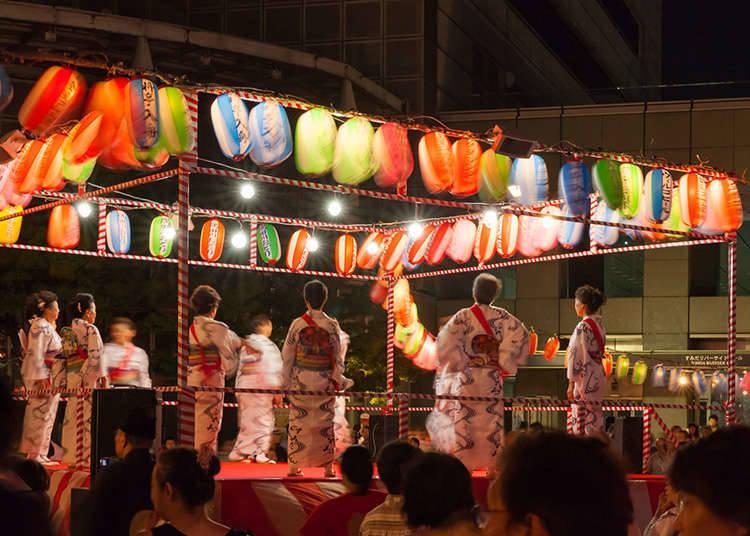 งานเทศกาลมีชีวิตชีวาขึ้นมาในฤดูร้อน