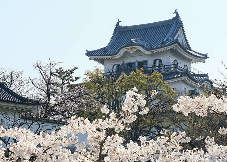 日本城郭的特征