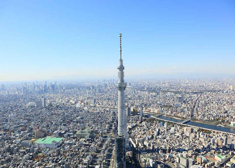 日本具有代表性地标性建筑物。