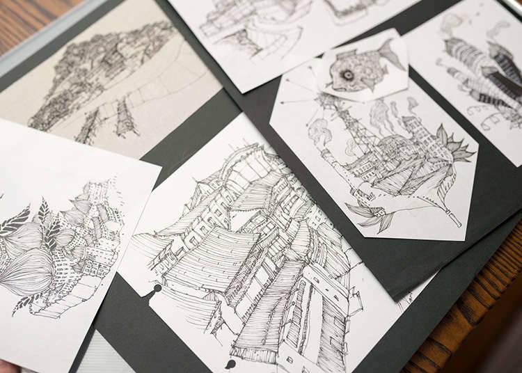 애니메이션・만화를 테마로 한 미술관