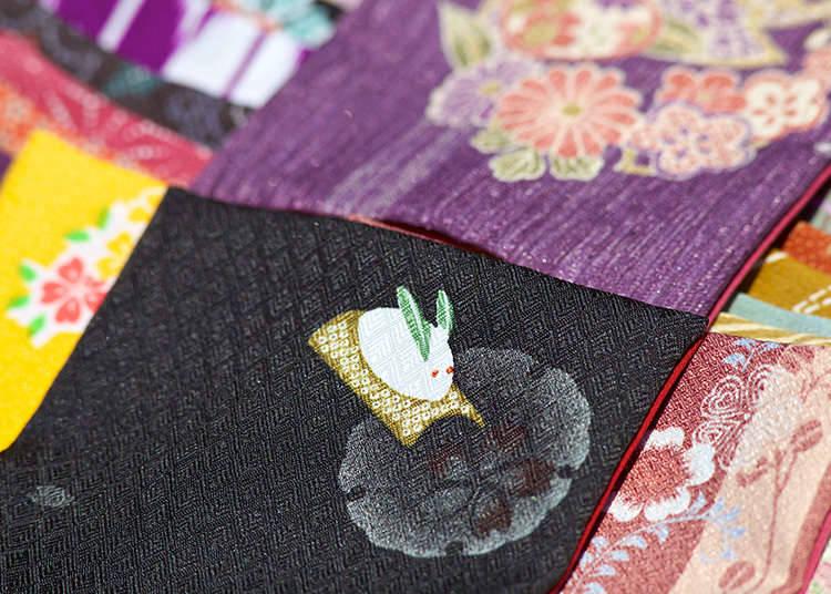 Galeri seni untuk melihat kimono