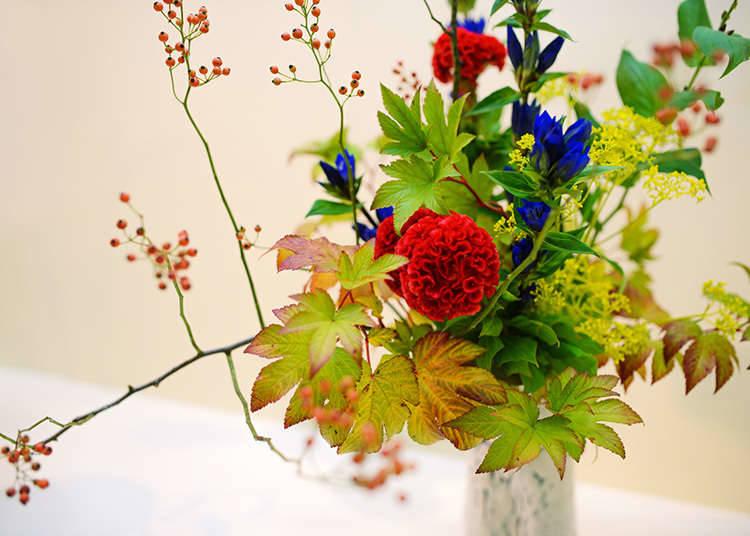 การจัดดอกไม้แบบญี่ปุ่น (คาโด)