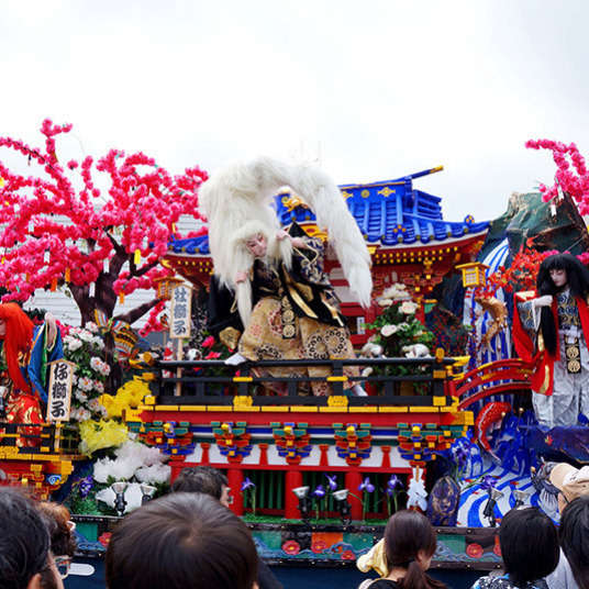 日本的传统舞台剧——歌舞伎