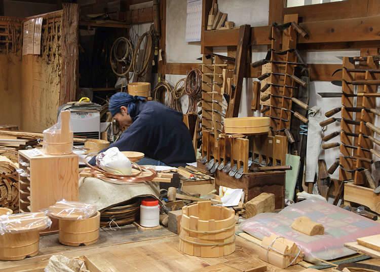 Menerapkan Geidō: Kerajinan Tradisional
