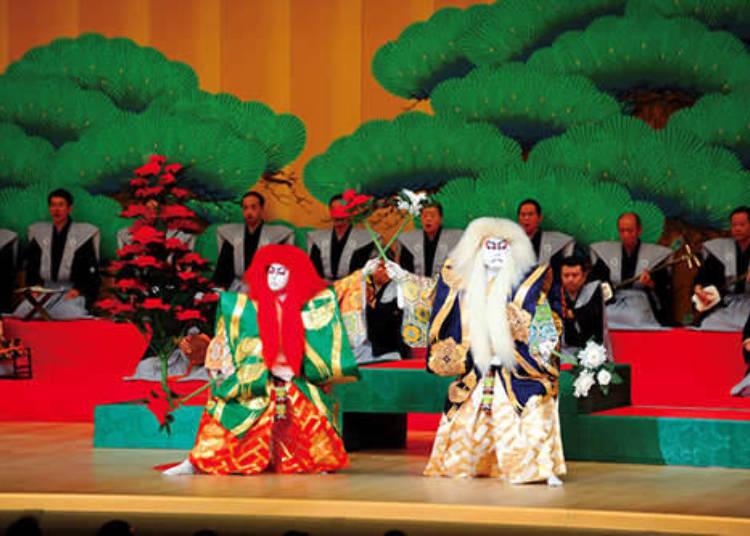 古典藝能的代表:歌舞伎