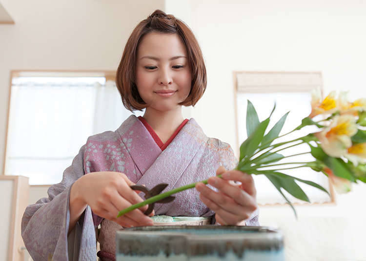 Features of Ikebana