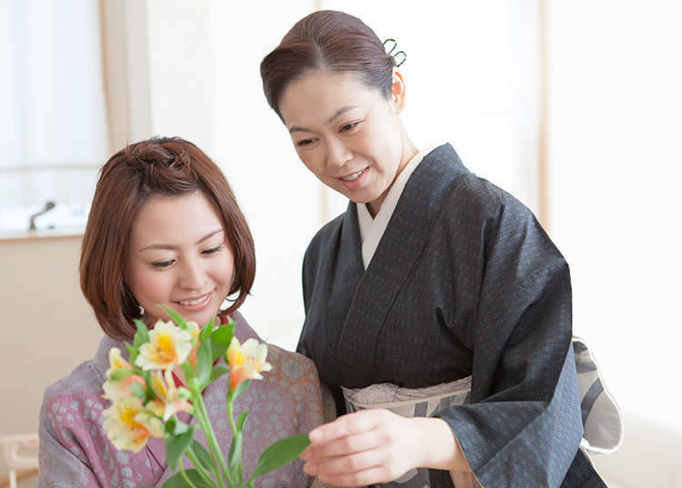 Bagaimana Merasakan Ikebana