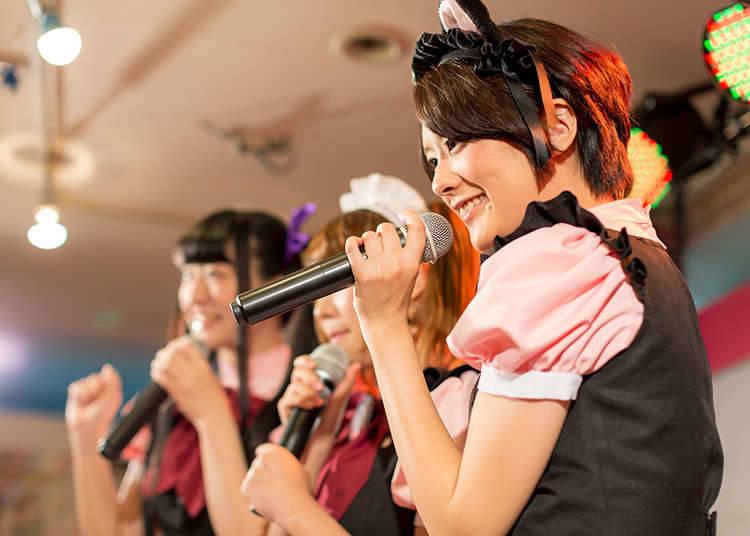 Konser oleh Wanita Idola