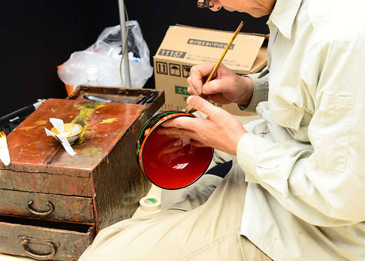 Major Lacquerware Producing Areas