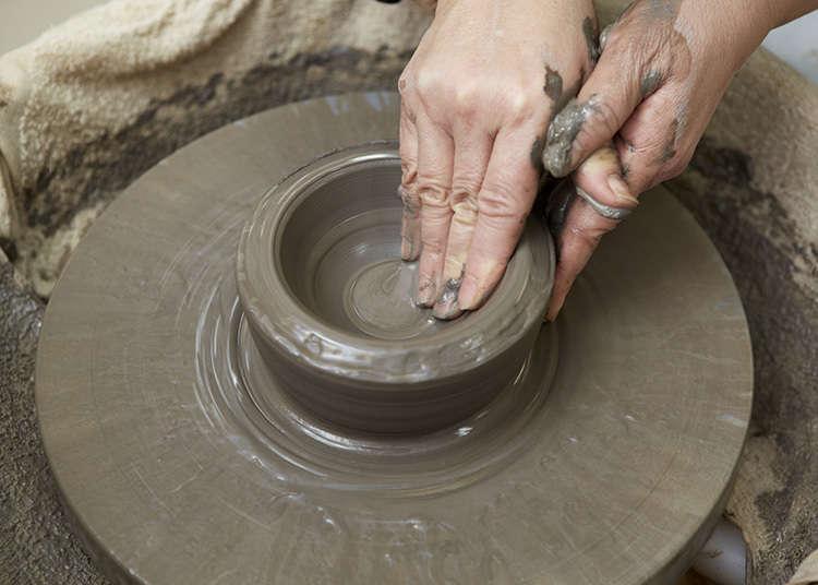 陶器と磁器の製作工程