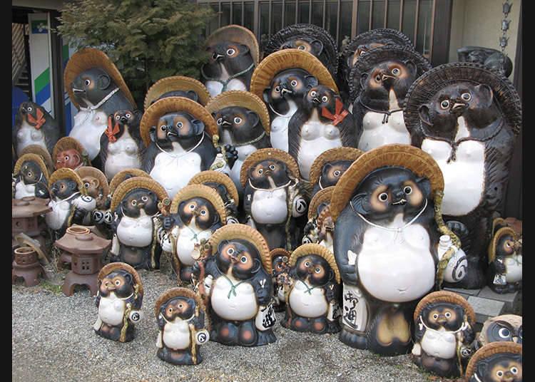 Barangan tembikar sekitar Jepun