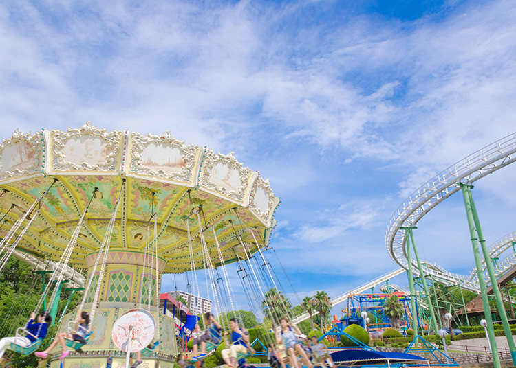Best-known Theme Parks in Japan