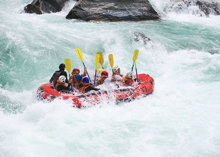 Nature experience ③ - rafting -
