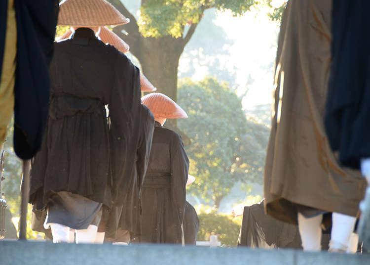 文化体験②~お寺で修行体験