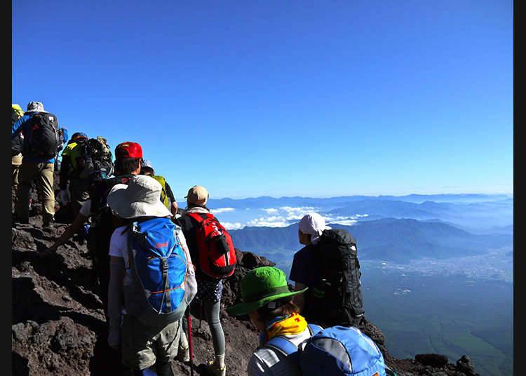 Menghayati alam semulajadi ①~Mendaki gunung