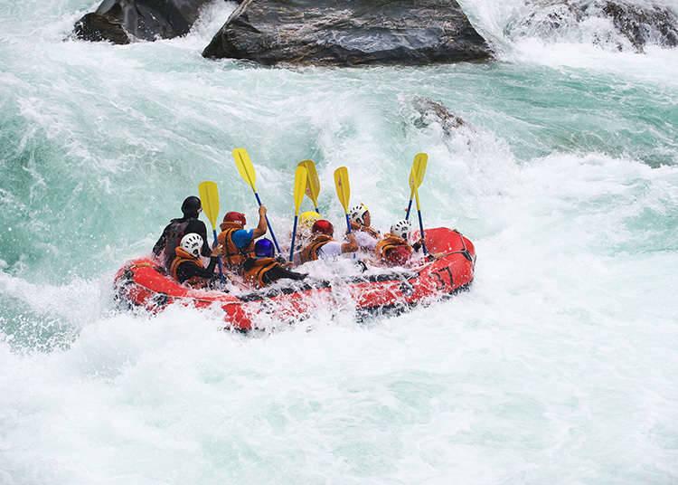 Menghayati alam semulajadi ③~Rafting