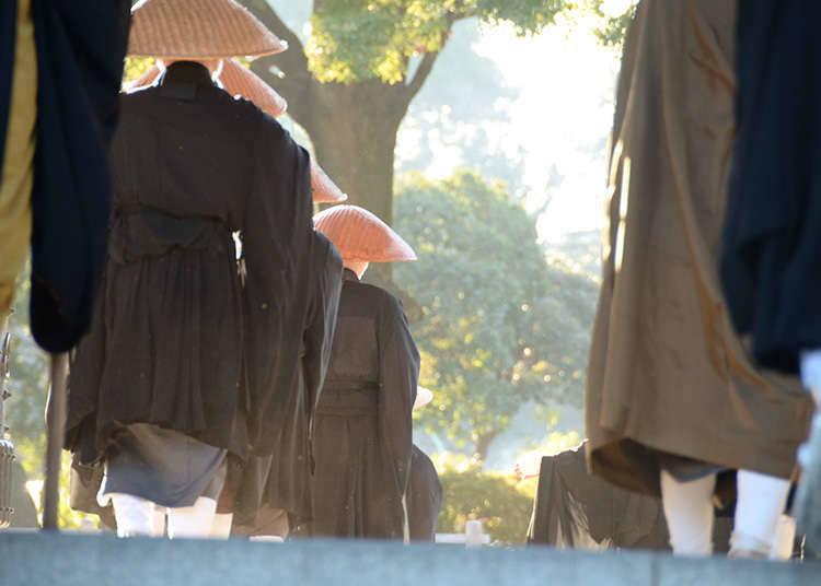 Menghayati Budaya➁~Pengalaman menjalani latihan di kuil