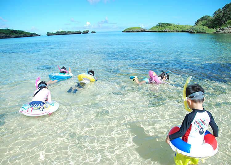 ประสบการณ์ธรรมชาติ 2 การดำน้ำแบบสนอร์เกิลลิ่ง (Snorkeling)