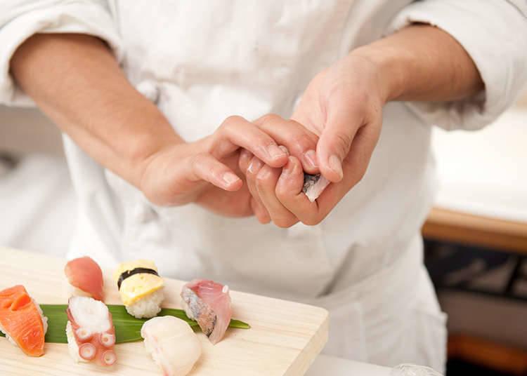 Nigiri-Zushi (Hand-Pressed Sushi) Experience
