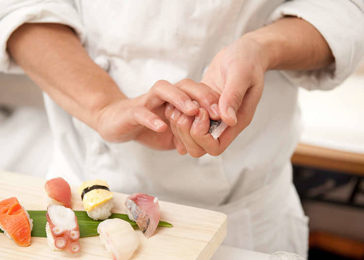Pengalaman Nigiri-Zushi (Sushi Buatan Tangan)