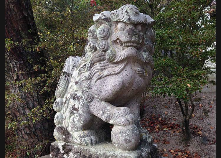 Komainu, penjaga kuil