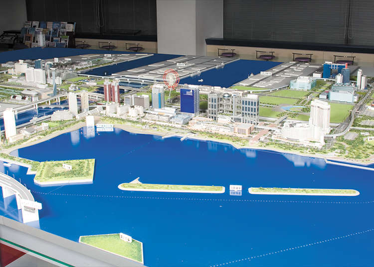 Mengenal Sejarah Odaiba di Tokyo Port Museum
