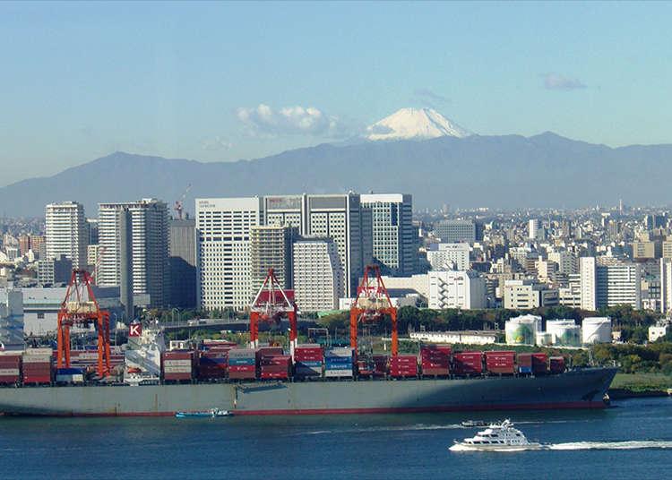 Salah satu tempat pelancongan utama di Tokyo!