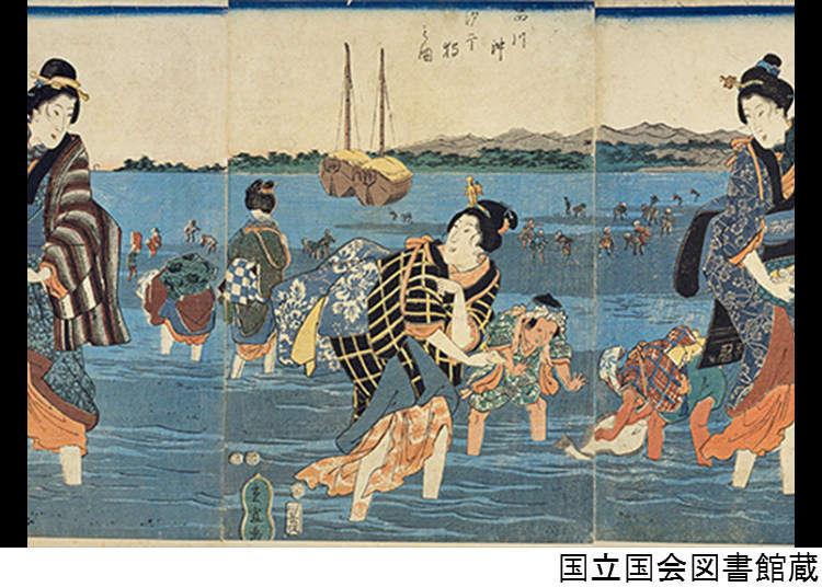 ก่อนหน้านี้นั้นย่านโอไดบะเคยเป็นทะเลที่เรียกว่าชินากาว่าโอคิ