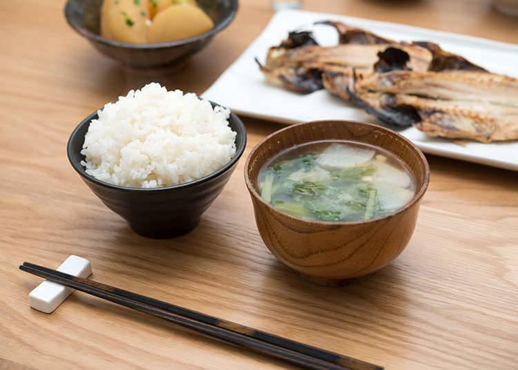 Basic washoku (Japanese dishes)