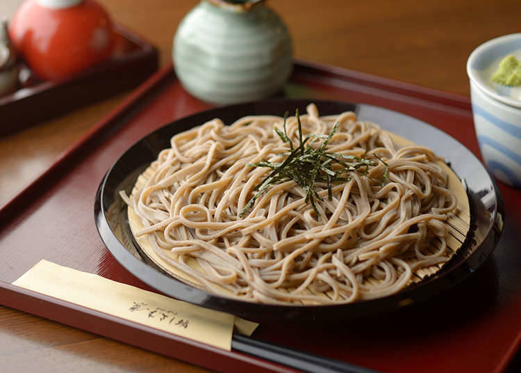 Soba and udon (mie)
