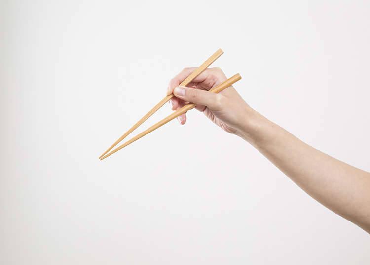 Cuba gerakkan chopstick