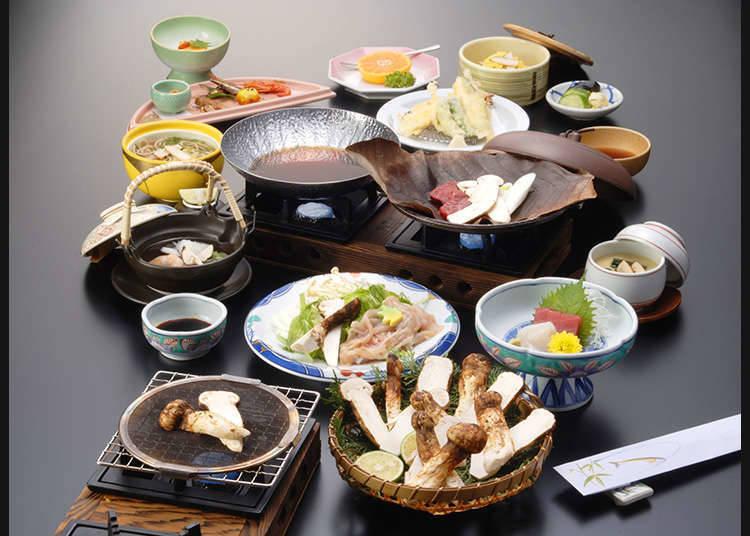 Makanan Jepun yang menjamu mata