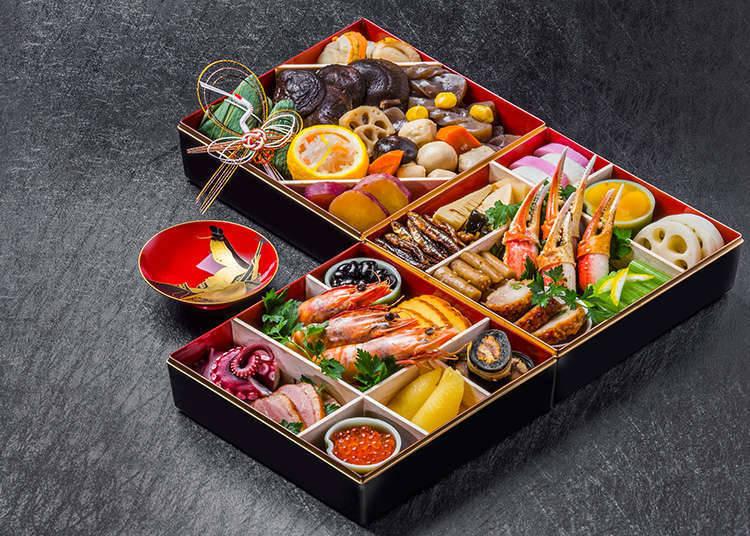 与季节及活动相搭配制作而成的丰富多彩的日本料理