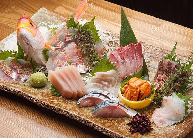 生魚片、鮮魚
