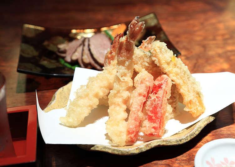 덴푸라 (일본식 튀김)