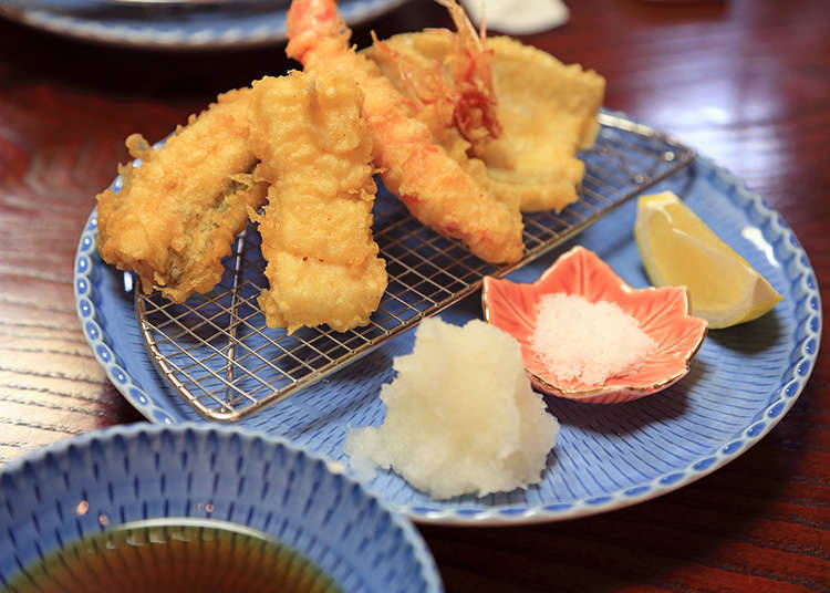 How to eat tempura