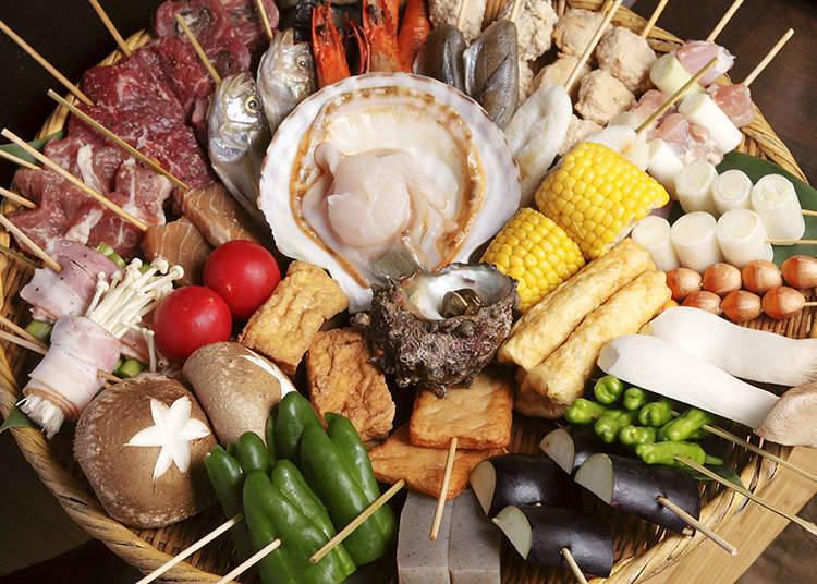 Standard Dishes of Kushiyaki
