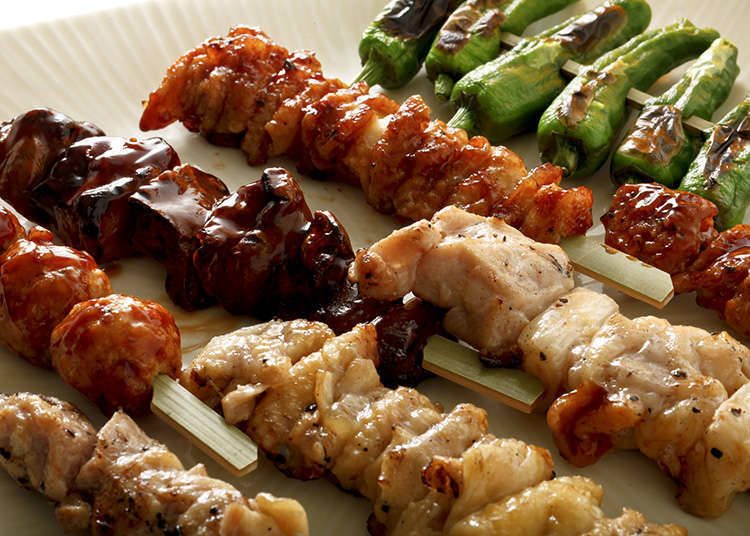 烤鸡肉串的经典菜单