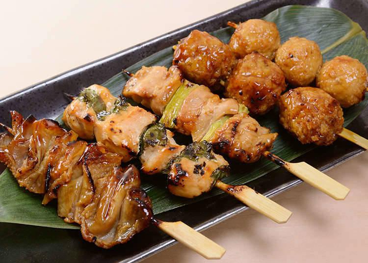 日式烤雞肉串・串燒的基本