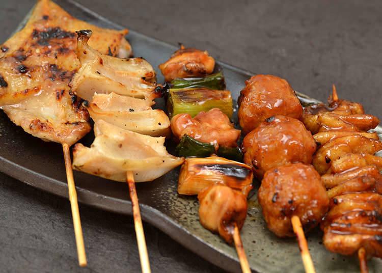 日本烤雞肉串・串燒的調味