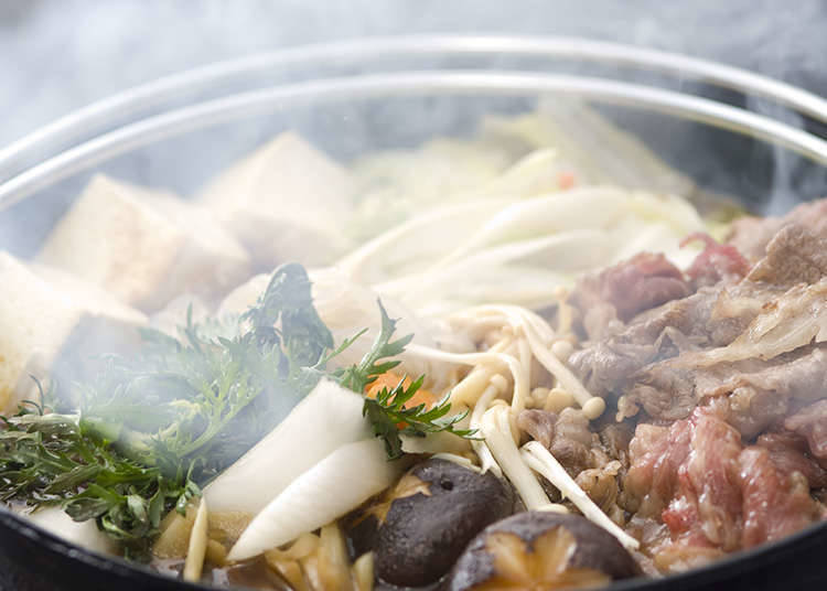 Regional Differences of Sukiyaki