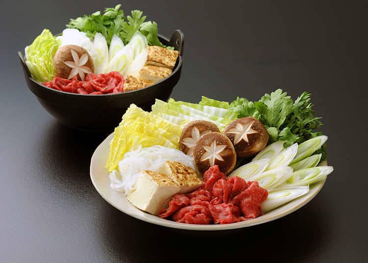 Bahan-bahan Sukiyaki