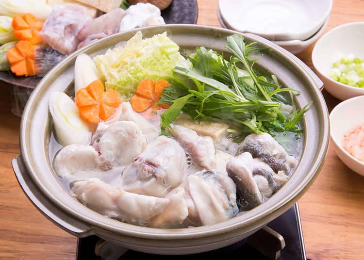 具代表性的料理--河豚鍋