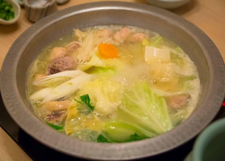 水炊雞肉火鍋