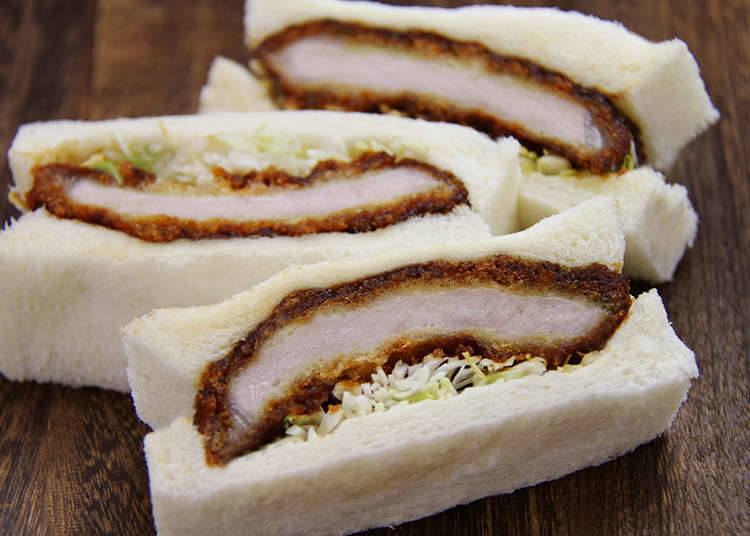 Katsusand (Pork Cutlet Sandwiches)