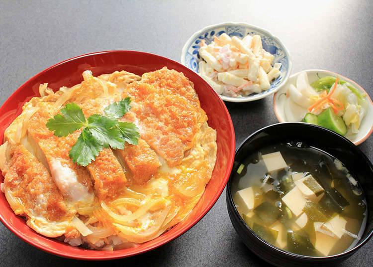 Katsudon (kutlet daging khinzir di atas nasi)